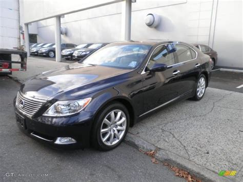 Color Ls by 2009 Black Sapphire Blue Pearl Lexus Ls 460 Awd 52201262