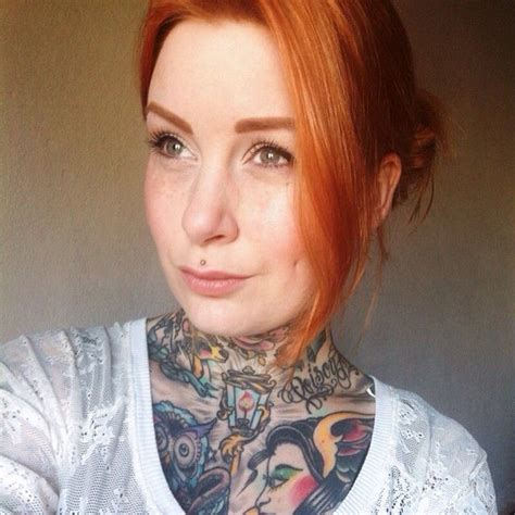 redhead tattoo 11 best images about tattooed on