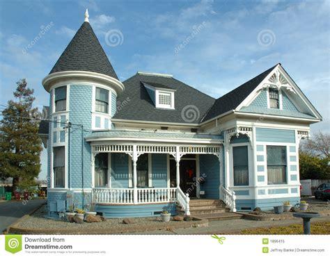 Home Design Victorian Style vieille maison victorienne photo libre de droits image