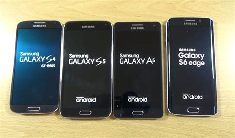 Samsung A5 Edge Samsung Galaxy S6 Edge Vs A5 Vs S5 Vs S4 Speed Test
