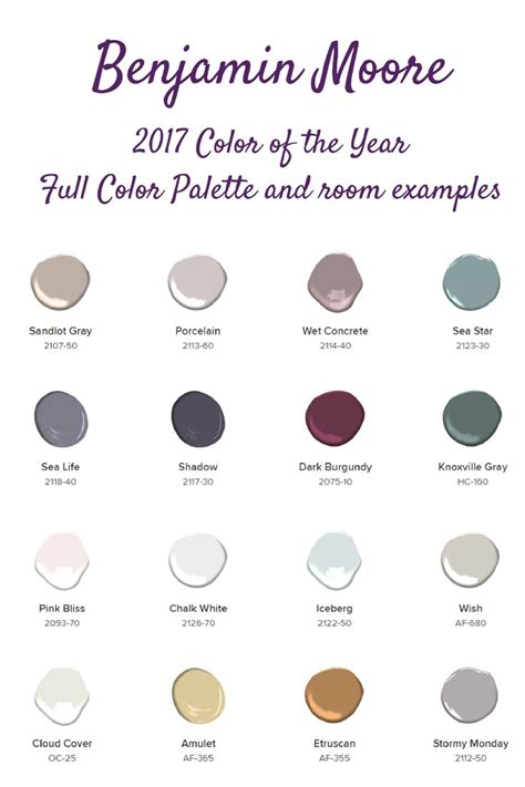 color of the year benjamin moore 13 best benjamin moore 2017 color of the year images on