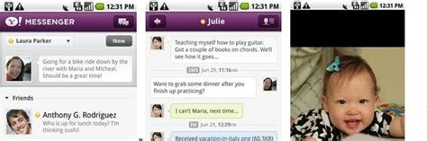 yahoo messenger for android tablet apk yahoo messenger 1 5 android apk get with your yahoo apk