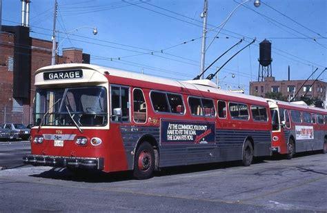 toronto trolleys and buses on ralbu79 toronto transit comm trolley bus 9216