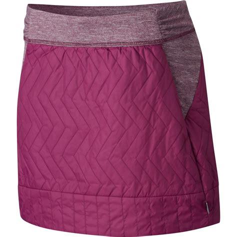 mountain hardwear trekkin insulated mini skirt s