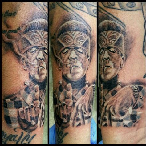 it tatted frankenstein by skin it shop ogden