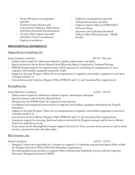 Equipment Specialist Sle Resume by Resume Ico Rodrigues A J 04202015
