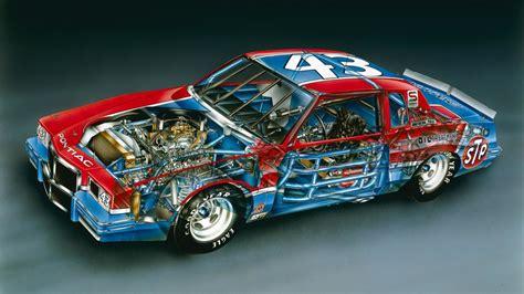 Richard Petty Pontiac by Kimble Cutaways 1982 Richard Petty No 43 Pontiac Grand Prix