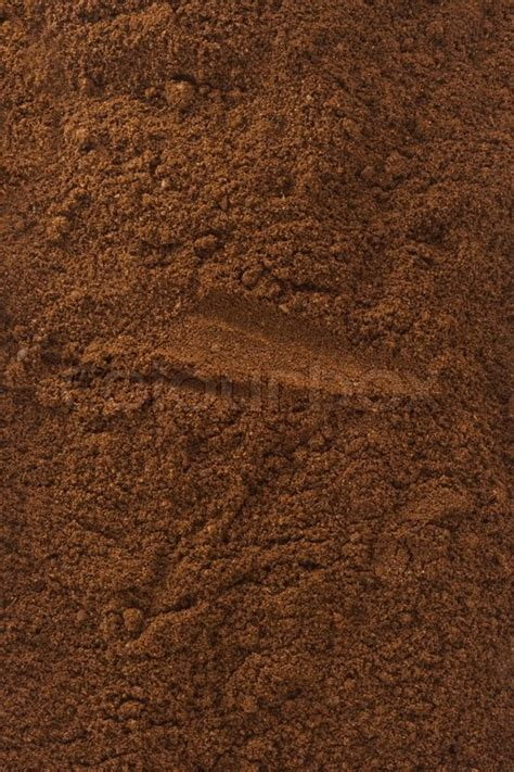 Coffee Powder coffee powder as background texture stock photo colourbox