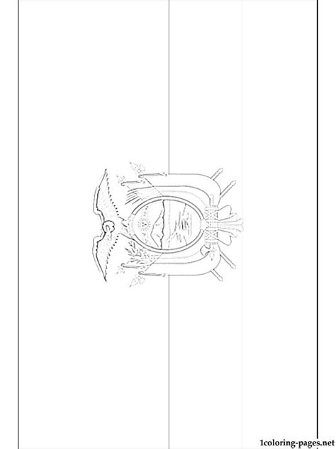 ecuador flag coloring page coloring pages