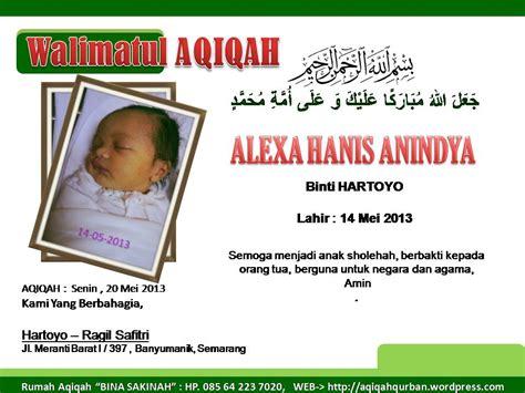 gambar format jasa layanan catering aqiqah semarang pusat kambing aqiqah paket catering