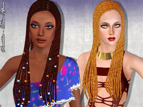 Dreadlocks Hairstyle 004 By Kijiko by Sims Custom Content Hair Dreads Sintikliasims Sintiklia