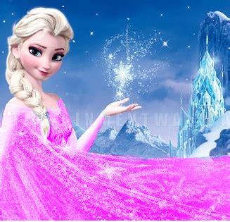 pink elsa wallpaper elsa in pink dress by winterelsa on deviantart