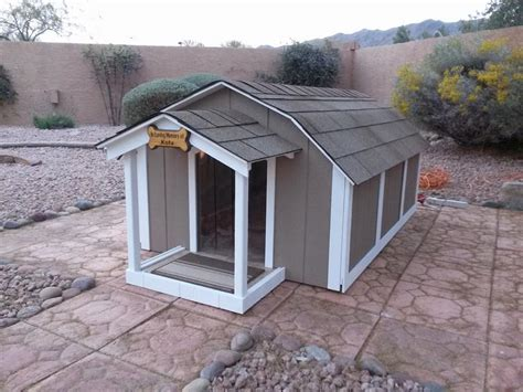 outdoor dog houses for large dogs air conditioned dog houses heated and cooled dog house