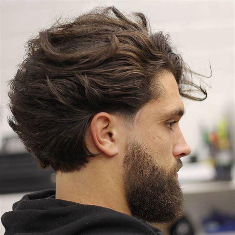 medium length hairstyles  men   mens