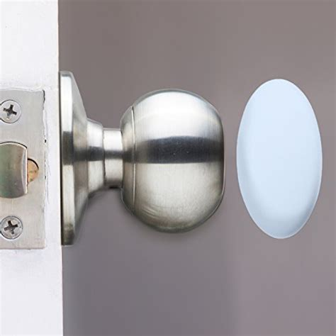 Door Knob Wall Shield by Authentic Outus 4 Pack Door Knob Wall Shield Protector