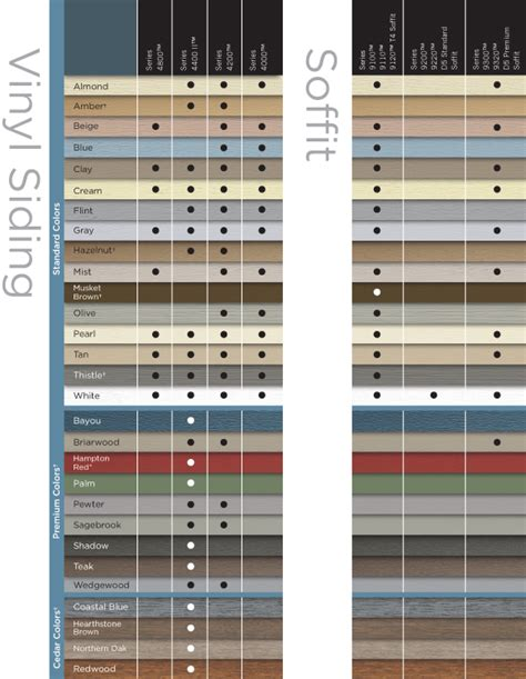 vinyl siding color chart crane vinyl siding color chart pictures to pin on