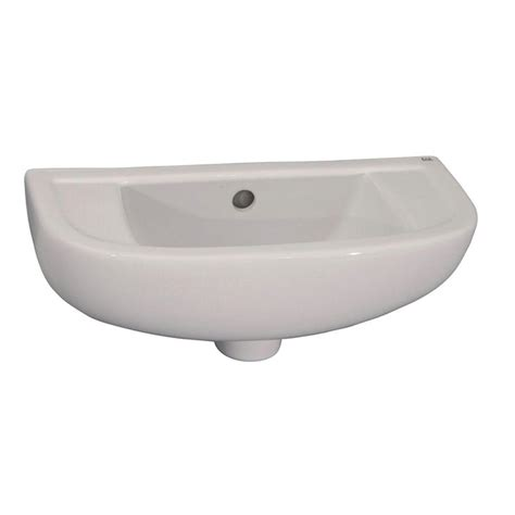slim bathroom sink barclay products compact slim line wall mounted bathroom