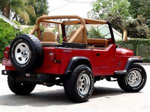 Jeep Wrangler Manual Or Automatic Sell Used 1987 Jeep Wrangler Yj One Owner Low 6