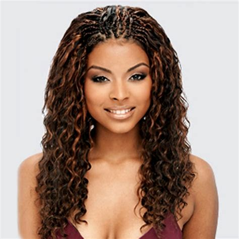 2014 african american long hairstyles for women invisible part curly single braided hairstyles curly individual braids