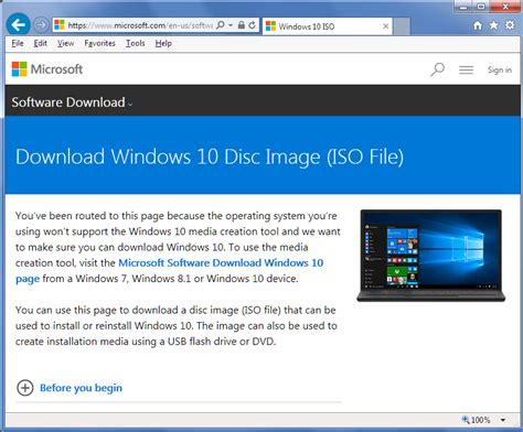 install windows 10 pro over home how to use microsoft s download web site to download an