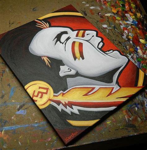 florida state seminoles sports art  art colleges  pinterest