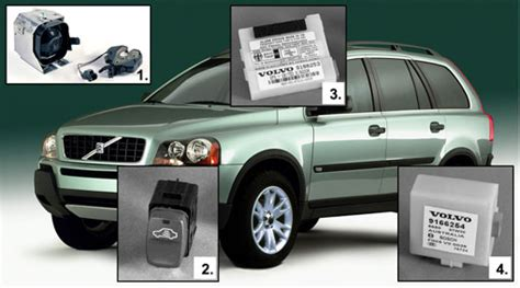 volvo xc90 alarm volvo guard alarm system a complete alarm system for your