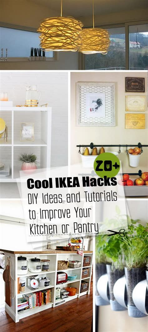 ikea hack pantry 20 cool ikea hacks diy ideas and tutorials to improve