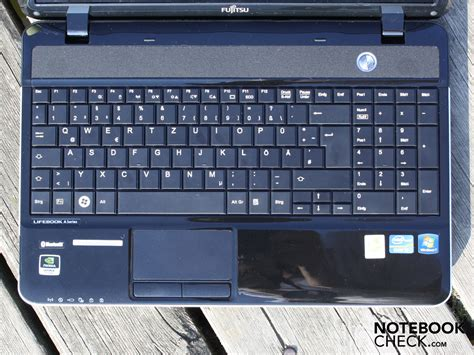 Keyboard Laptop Fujitsu Ah531 review fujitsu lifebook ah531 notebook notebookcheck net reviews