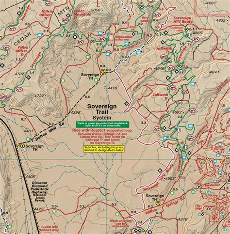 map of moab classic moab trails utah recreation topo map latitude