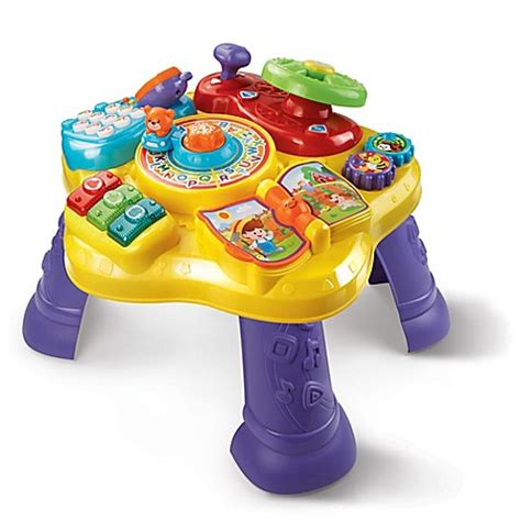 Vtech Super Star Learning Table Buybuy Baby