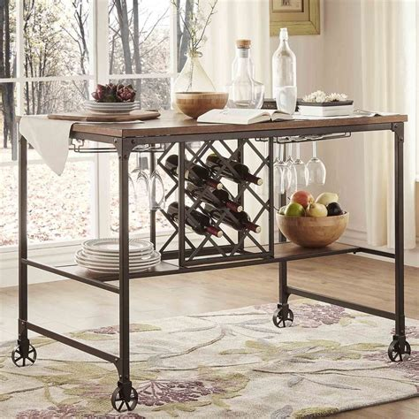 berwick iron buffet with wine storage by inspire q classic