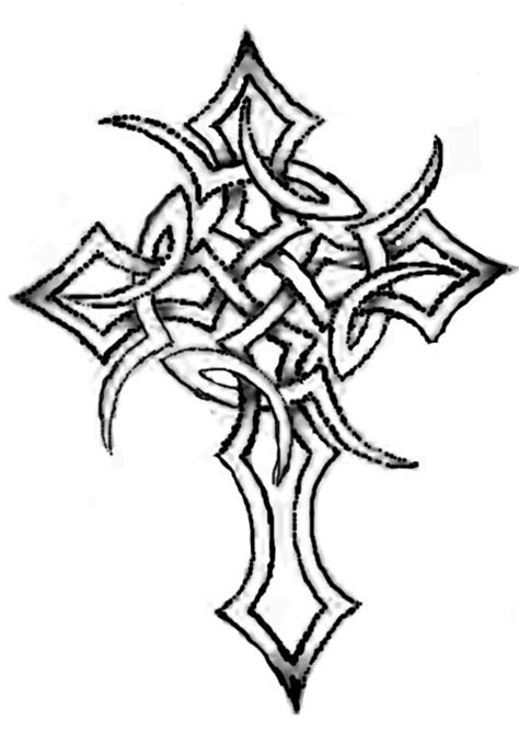 simple celtic cross tattoo celtic tattoos and designs page 455
