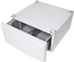 Pedestal For Whirlpool Duet Lg Wdp3w Laundry Pedestal With Drawer White For Lg Front