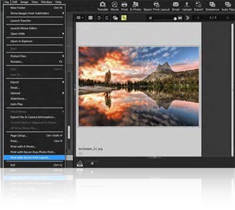 layout manager epson epson print layout epson