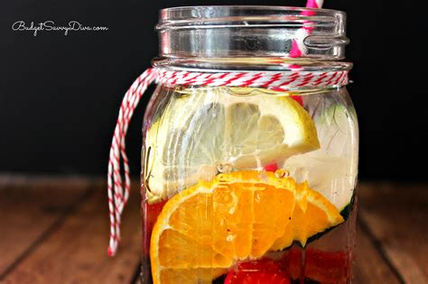 Blackberry Detox Water by Energy Boost Detox Water Recipe Budget Savvy