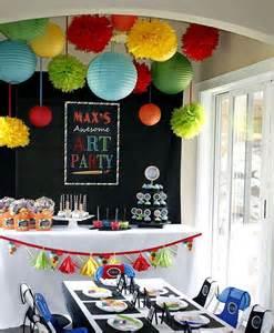 art party decor