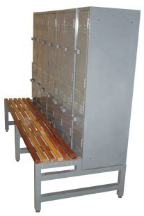locker with bench lockers benches product range index greenfield lockers