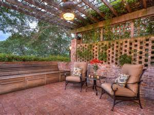 Wood Pavers For Patio 25 Brick Patio Design Ideas Designing Idea