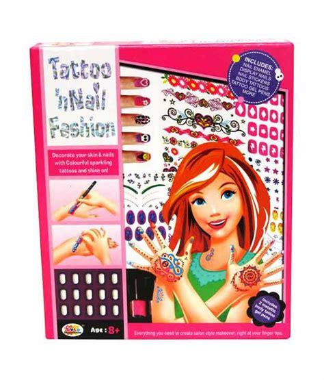 tattoo kit flipkart ekta tattoo n nail fashion kit available at snapdeal for
