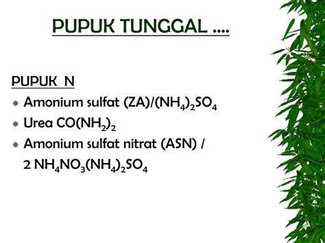 Pupuk Tunggal Majemuk ppt ktnt iii 2009 2010 powerpoint presentation id 3304520