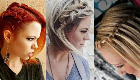 peinados para pelo corto con trenzas 60 peinados para cabello corto en tendencia para este a 241 o