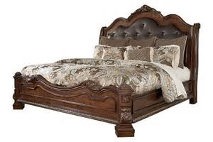 California King Sleigh Bedroom Set Ledelle King Sleigh Bed Ashley Furniture Homestore