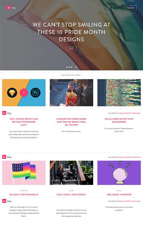 layout vision blog blog design inspiration 7 exles of user focused design