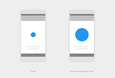 layout units android unidades y medidas material design desarrollador android