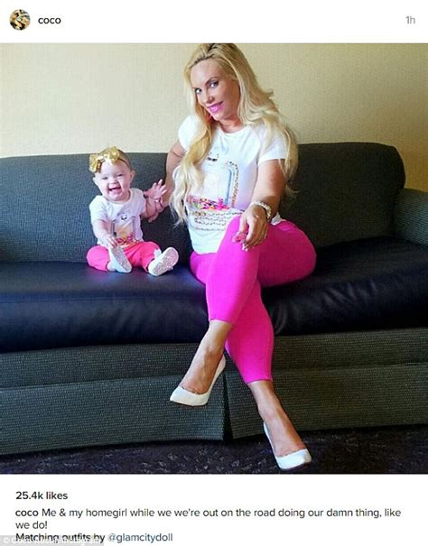 coco instagram coco austin daughter chanel wear matching outfits on