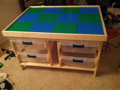 Lego Building Table With Storage by Diy Lego Table For For Kid Stuff