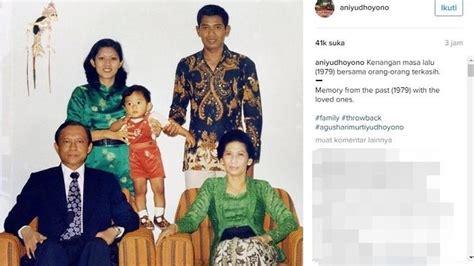 Foto Kenangan Pak Harto 35 ani yudhoyono unggah foto kenangan cantiknya bu ani muda dan kurusnya pak sby jadi perhatian