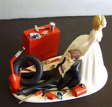 mechanic cake topper racing auto mechanic customized wedding cake topper 4174 76 95