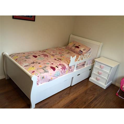 kids bed buy modern sleigh kids bed frame online in australia find