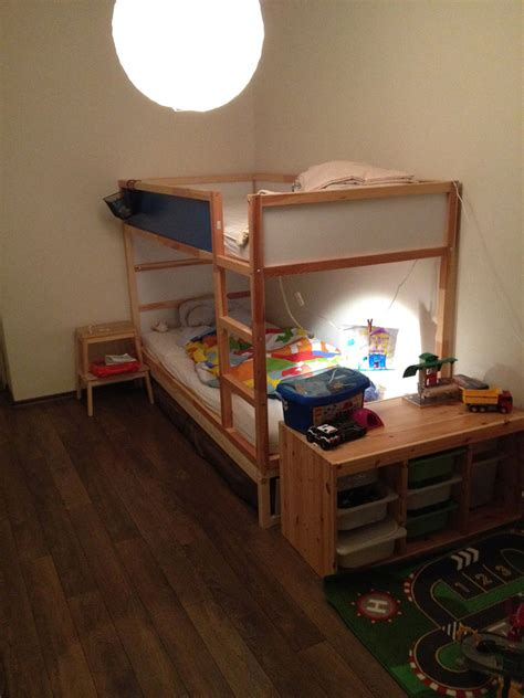 ikea kura loft bed ikea kura double bunk bed extra hidden bed sleeps 3 ikea hackers